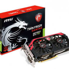 Placa video MSI GeForce GTX 760 Gaming Twin Frozr OC 2GB DDR5 256-bit