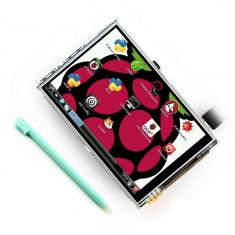 Ecran lcd tft raspberry pi 3, 5 inch touchscreen
