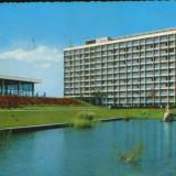 Carte postala circ. 1965 - Hotelul si restaurantul Doina - 2/scanuri, Circulata, Fotografie