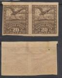 RFL 1919 ROMANIA ocupatia in Ungaria Debretin II vultur 20 f eseu in pereche