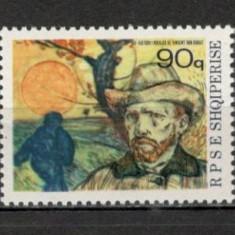 Albania.1990 100 ani nastere V. van Gogh-Pictura  SA.547