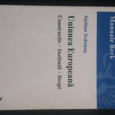 Uniunea Europeana-Stelian Scaunas - Carte Drept comunitar