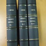 I. Tanoviceanu Curs de drept penal si procedura penala 3 volume 1912 - 1913 - Carte Drept penal