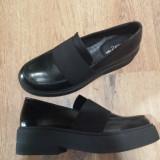 Pantofi dama NOI piele integral model cu talpa groasa foarte comozi sz. 37 !