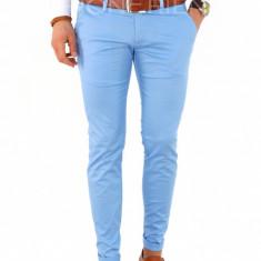 Pantaloni tip ZARA albastrii - pantaloni barbati - COLECTIE NOUA- 7801, Marime: 30, 31, 32, 33, 34, 36, Culoare: Din imagine