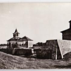 A.5 RPR CP necirculata manastirea ZAMCA jud Suceava biserica turnul clopotnita - Carte Postala Bucovina dupa 1918, Fotografie