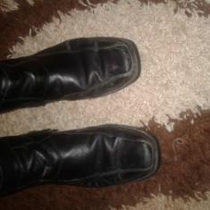 Cizme - Cizme barbati, Marime: 45, Culoare: Negru