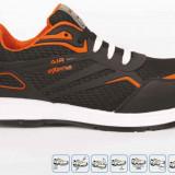 NOU Pantofi protecția muncii CORDOBA - Pantof barbat, Marime: 37, 38, 39, 40, 41, 42, 43, 44, 45, 46, 47, 48, Culoare: Negru, Textil, Casual