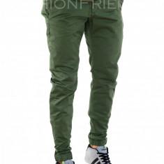 Pantaloni tip ZARA kaki - pantaloni barbati - COLECTIE NOUA - 7808H4, Marime: 30, 36, Culoare: Din imagine