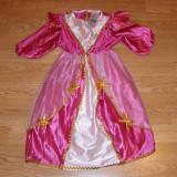 Costum carnaval serbare printesa pentru copii de 2-3 ani, Marime: Masura unica, Culoare: Din imagine