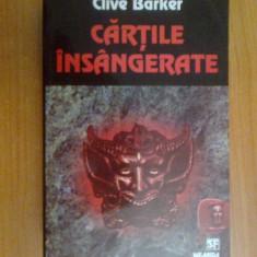N7 Clive Barker - Cartile insangerate - Carte Horror