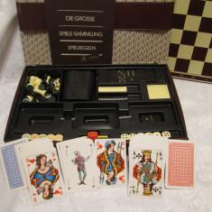 CASETA SAH TABLE DOMINO CARTI JOC MOARA ZARURI - TRAVELLERS CLUB COLLECTION - Set poker