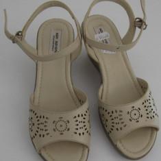 Sandale dama din piele naturala, noi, foarte comode, lichidare stoc