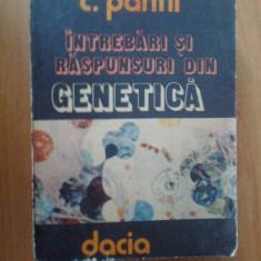 H0b Intrebari Si Raspunsuri Din Genetica - C. Panfi