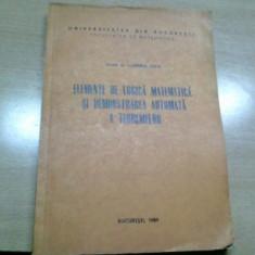 Elemente de logica matematica / Luminita State - Carte Matematica