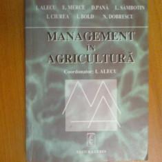 H5 Management In Agricultura - I. Alecu etc