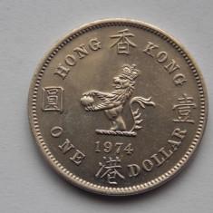 ONE DOLLAR 1974 HONG KONG, Asia