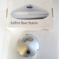 Router wireless Apple Airport Extreme Base Station A1034, Porturi LAN: 1, Porturi WAN: 1