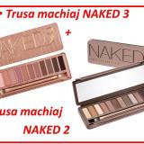 Set 2 truse machiaj naked 2 si naked 3 urban decay farduri pleoape 12 culori - Trusa make up