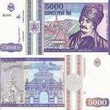 ROMANIA 5.000 lei 1993 UNC!!! - Bancnota romaneasca