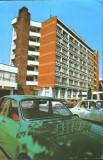 Romania - Carte postala circ. 1997 - Rîmnicu Vîlcea - Centrul Nou - 2/scanuri, Ramnicu Valcea, Circulata, Fotografie