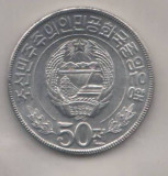 SV * Coreea de Nord / NORD KOREA   50 CHON  1978    aluminiu     UNC, Asia