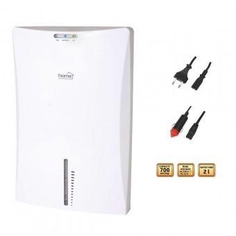 Dezumidificator de aer, Home DHM 700, capacitate rezervor 2 litri, dezumidificare 700 ml/zi foto