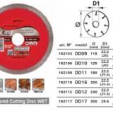 Disc diamantat continuu (ud)180mm, Raider 162109
