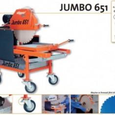 Masina de taiat material de constructii JUMBO 651