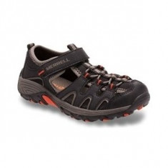 Sandale inchise pentru copii Merrell Hyidro H2O Hiker Sandal Black (MRL-MY56508) - Ghete copii Merrell, Marime: 29, 30, 31, 32, 33, 34, 35, 36, 37, 38, 39, Culoare: Negru