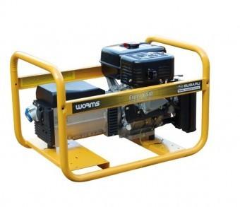 Generator de curent monofazat Subaru Expert 6510X, 7.37kVA foto