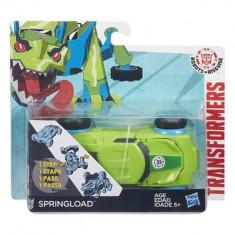 Jucarie Transformers Robots In Disguise 1-Step Changers Springload - Roboti de jucarie Hasbro