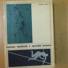 Baciu C. Anatomia functionala a aparatului locomotor Bucuresti 1967 - Carte Recuperare medicala
