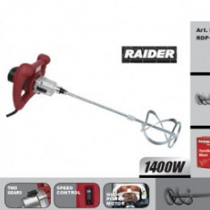 Mixer amestecator 1400W, Raider RDP-HM03 - Amestecator electric