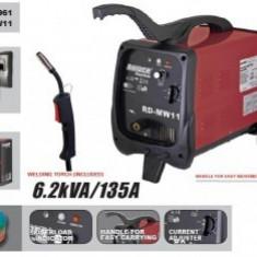 Aparat de sudura Mig-Mag 6.2 kVA, 30-135 A, Raider RD-MW11
