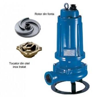 Pompa submersibila cu tocator Pentax DTR200, 1.5kW foto
