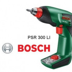 Masina de gaurit si insurubat cu acumulator 10.8V, Bosch PSR 300 LI