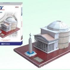 Puzzle 3D Pantheon - Puzzle educational - Jocuri arta si creatie