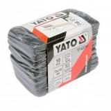 Set burete abraziv 10 buc. pentru curatare tevi din cupru, aluminiu, Yato YT-63740