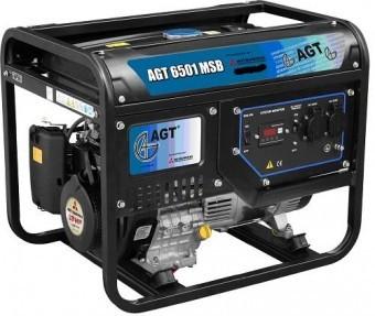 Generator de curent monofazat Mitsubishi AGT 6501 MSB - 5,7kVA foto mare