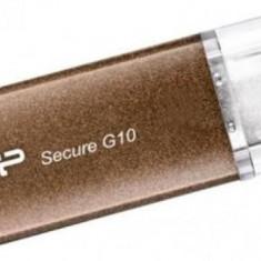 USB Flash Drive Silicon Power Secure G10 8GB USB 2.0 Bronze - Stick USB