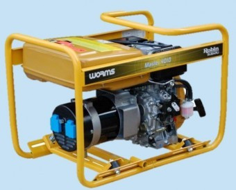 Generator curent Monofazat Diesel Subaru Master 4010 DXL15, 3.3kVA foto mare