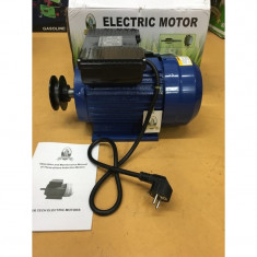 MOTOR ELECTRIC MONOFAZIC 1.1 KW 3000 RPM - Generator curent