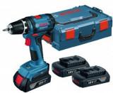 Masina de gaurit/insurubat Bosch GSR 18-2-Li Professional, Acumulator