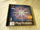 Who Wants to be a millionaire playstation one, PS1, alte sute de jocuri, Multiplayer, Simulatoare, Toate varstele