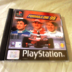Formula one 99 playstation one, PS1, alte sute de jocuri Altele, Sporturi, 3+, Multiplayer