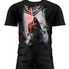 Tricou Star Wars Episode 7Homme First Order Noir Taille M - Tricou barbati