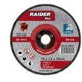 Disc pentru metal, scule pneumatice 75x1.6x9.5mm, Raider