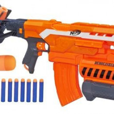 Pusca Nerf 2-In-1 N-Strike Elite Demolisher Blaster - Pistol de jucarie Hasbro