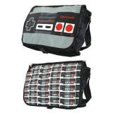 Geanta Nintendo Classic Nes Controller Reversible Flap Messenger Bag